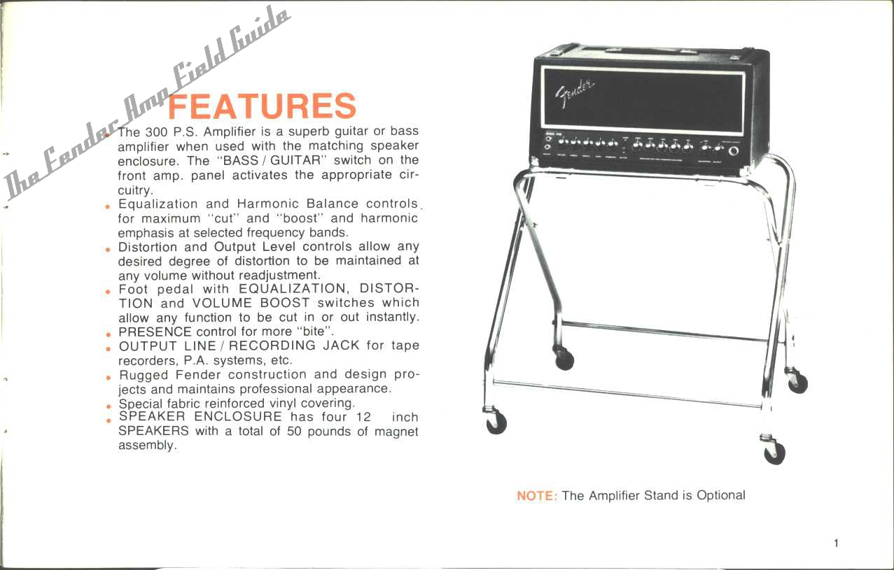 welcome to the fender amp field guide. Black Bedroom Furniture Sets. Home Design Ideas