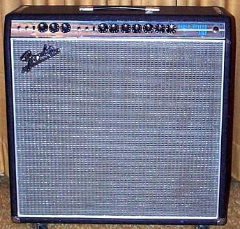 Silver Face Super Reverb